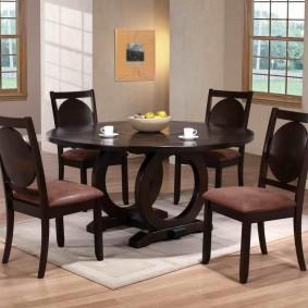 стол и стулья для гостиной фото дизайн
