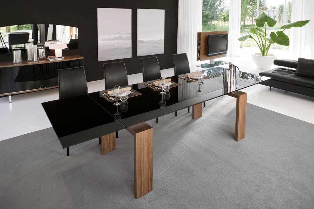 стол и стулья для гостиной минимализм