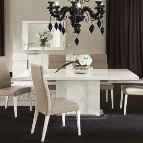 столы и стулья для гостиной фото идеи