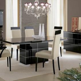 столы и стулья для гостиной дизайн фото