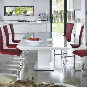 столы и стулья для гостиной идеи дизайн