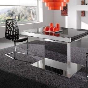 столы и стулья для гостиной идеи дизайна