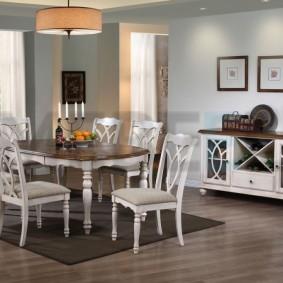столы и стулья для гостиной фото вариантов
