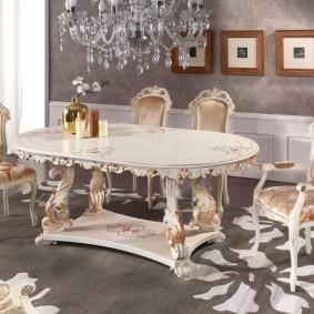 столы и стулья для гостиной фото декор