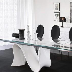 столы и стулья для гостиной фото декора