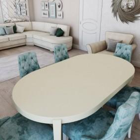 столы и стулья для гостиной идеи декора