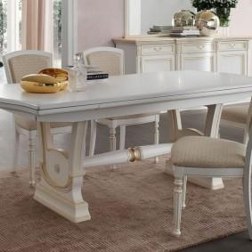 столы и стулья для гостиной варианты идеи