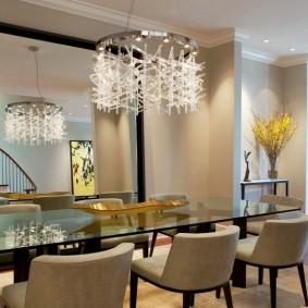 столы и стулья для гостиной идеи интерьера