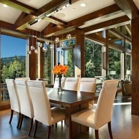 столы и стулья для гостиной оформление