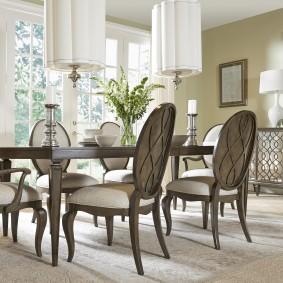 столы и стулья для гостиной виды