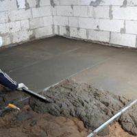 43907 Выравнивание бетонного и деревянного пола с помощью стяжек и плит OSB