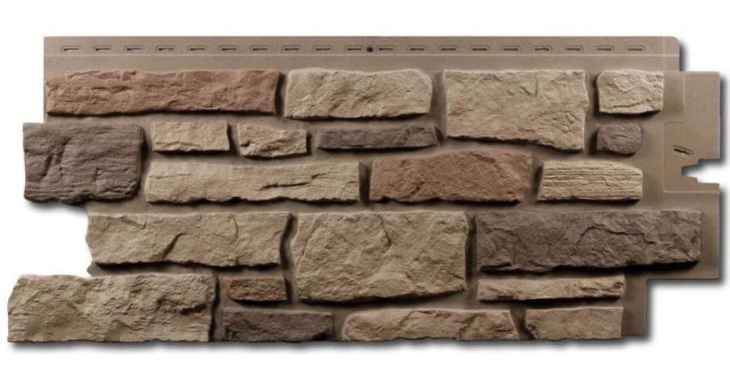 Разные приёмы отделки цокольной части фундамента под натуральный камень