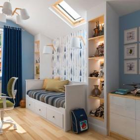 детская комната 10 кв м декор