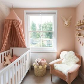 детская комната 10 кв м фото декор