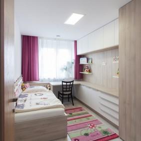 детская комната 10 кв м оформление фото