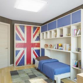 детская комната 10 кв м фото варианты