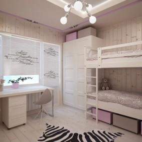 детская комната 10 кв м варианты идеи