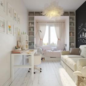 детская комната 10 кв м виды идеи