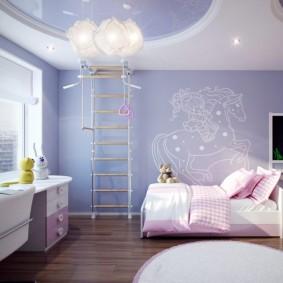 детская комната 10 кв м виды декора