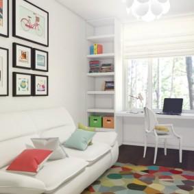 детская комната 10 кв м виды оформления