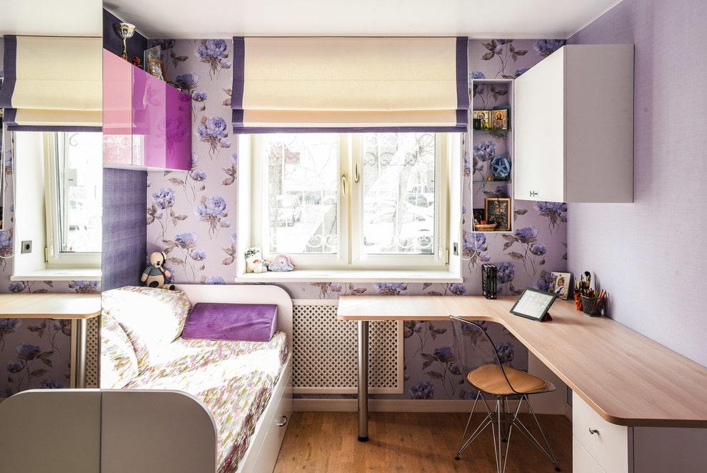 детская комната 10 кв м фото