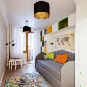 детская комната 10 кв м идеи