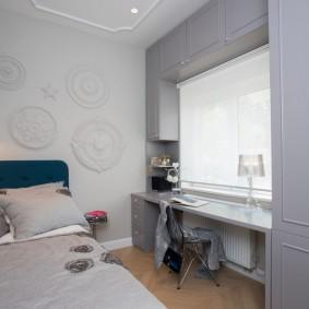 детская комната 10 кв м идеи дизайна