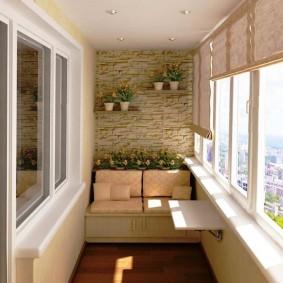двухкомнатная квартира хрущёвка с лоджией