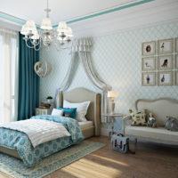 42502 Классический стиль в дизайне детской комнаты — варианты оформления