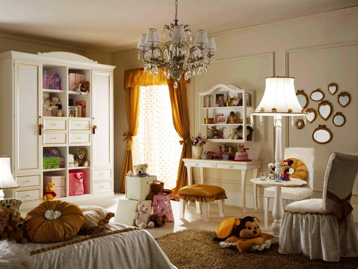 классический стиль в детской комнате