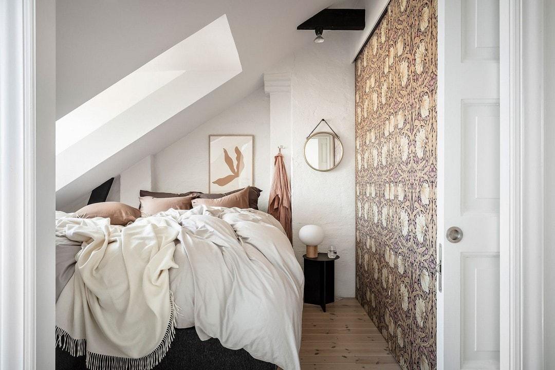 спальни на мансарде