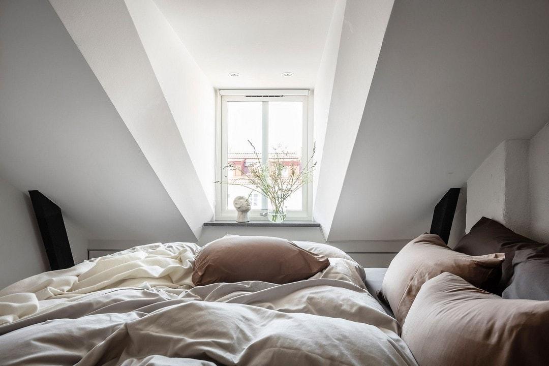 спальни на мансардном этаже
