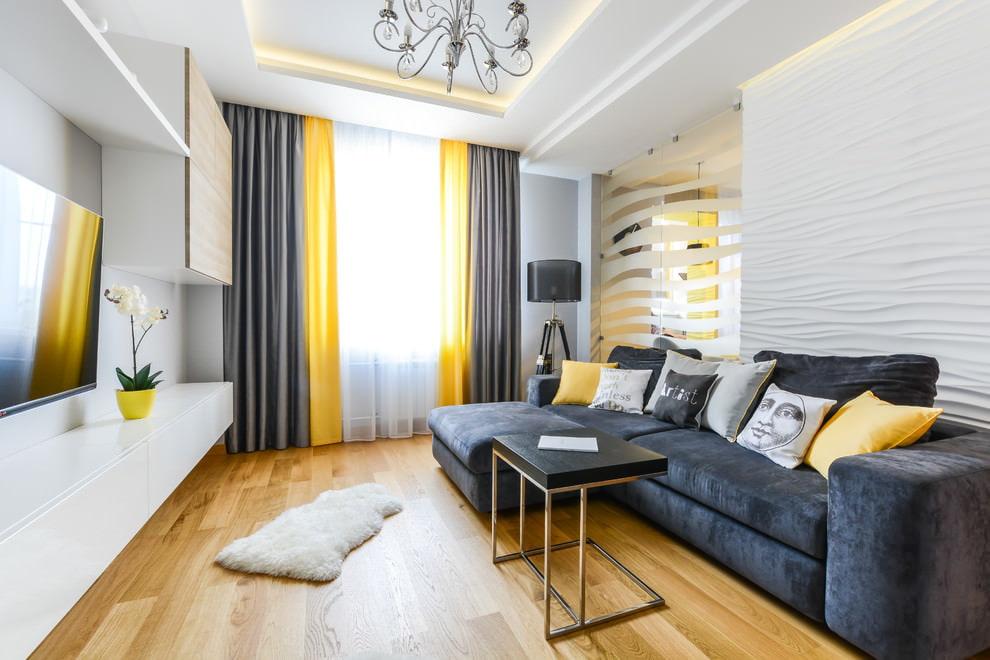 42865 Примеры дизайна интерьера гостиных комнат после ремонта