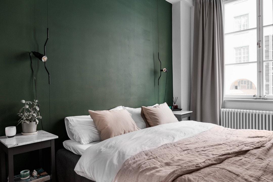 дизайн спальни в двухкомнатной квартире