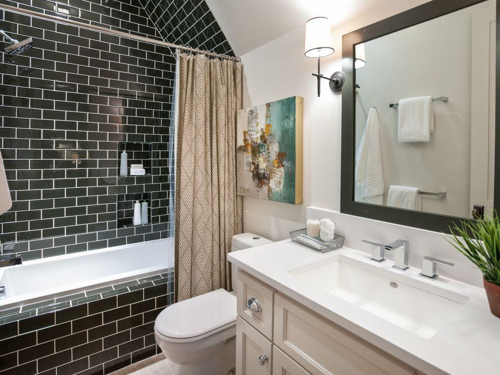 уютная ванная комната