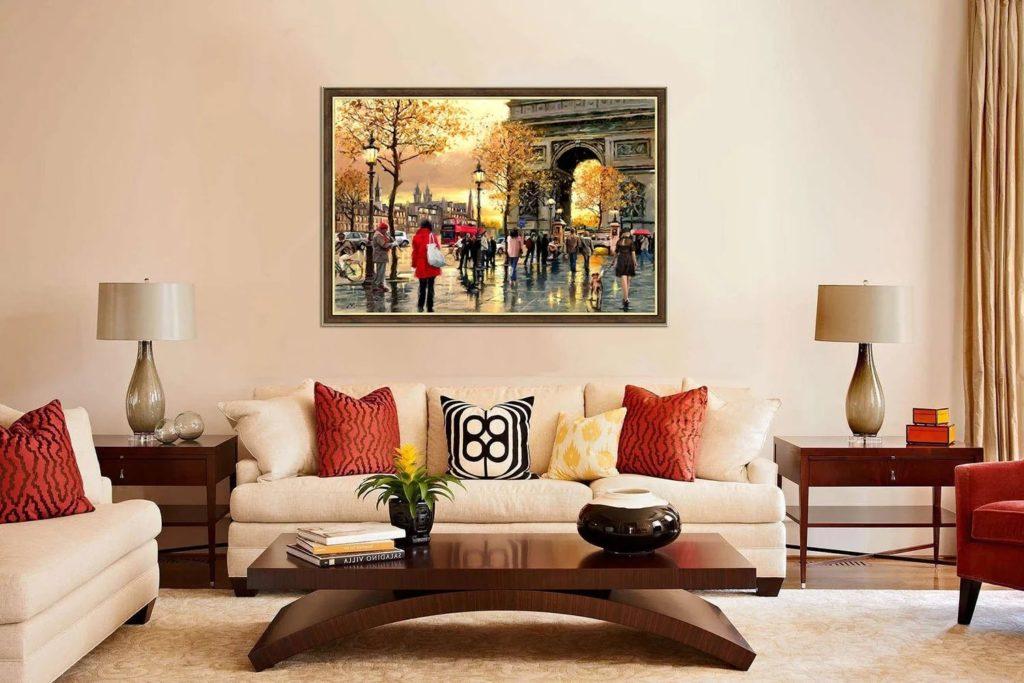 44429 Как правильно использовать картины и постеры в оформлении интерьера