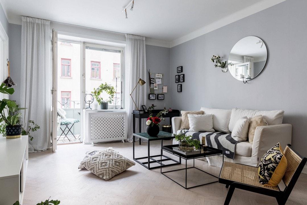 Как обыграть небольшую квартирку в французском стиле