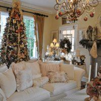45200 Как украсить гостиную к Новому году