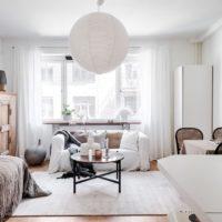 44724 Как в квартире-студии уместить двухкомнатную квартиру