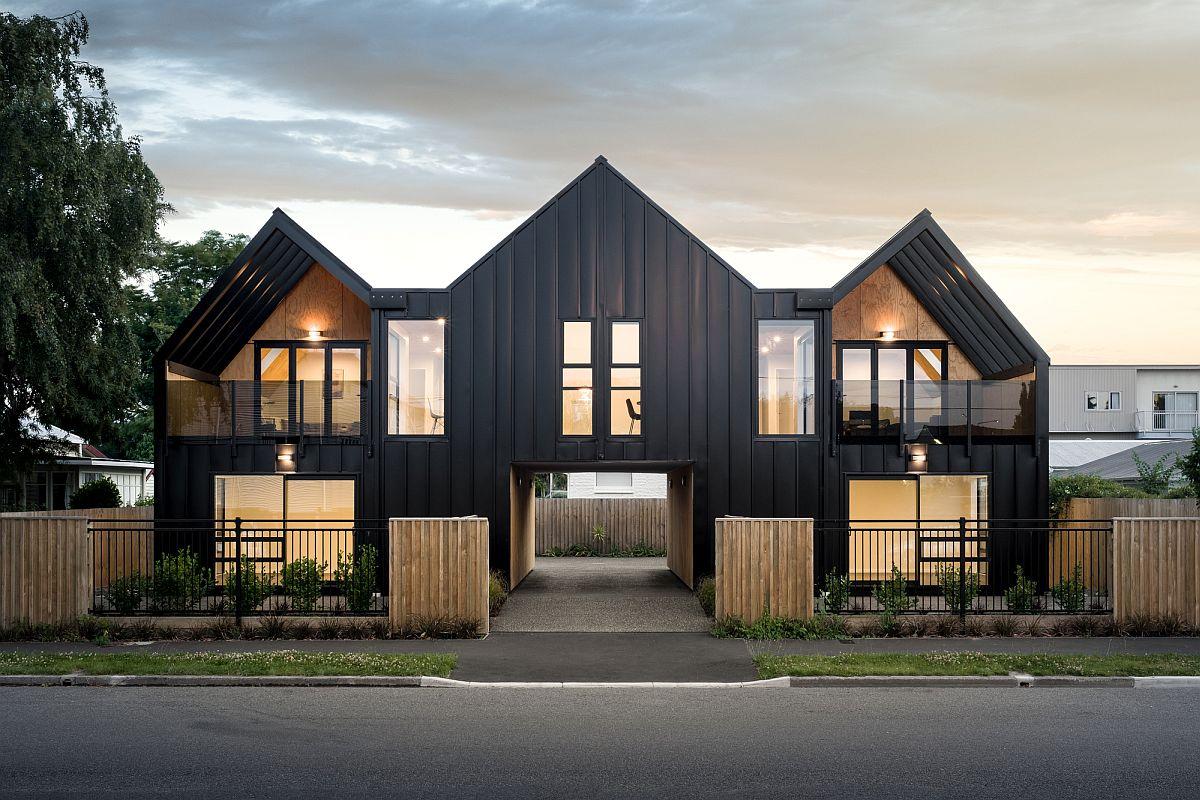 45162 Новозеландский таунхаус на 4 квартиры