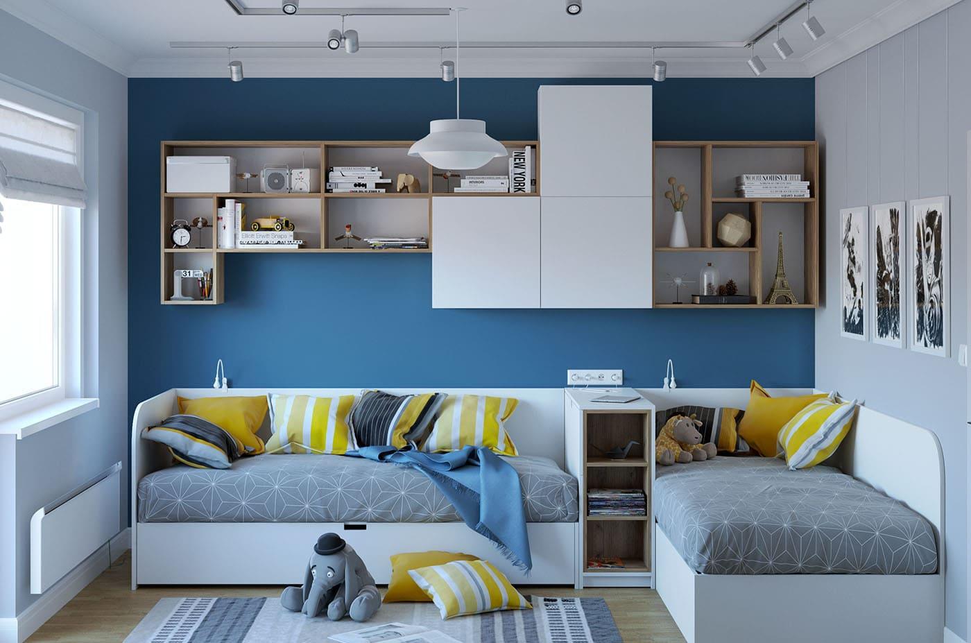 детская комната для детей дошкольного возраста