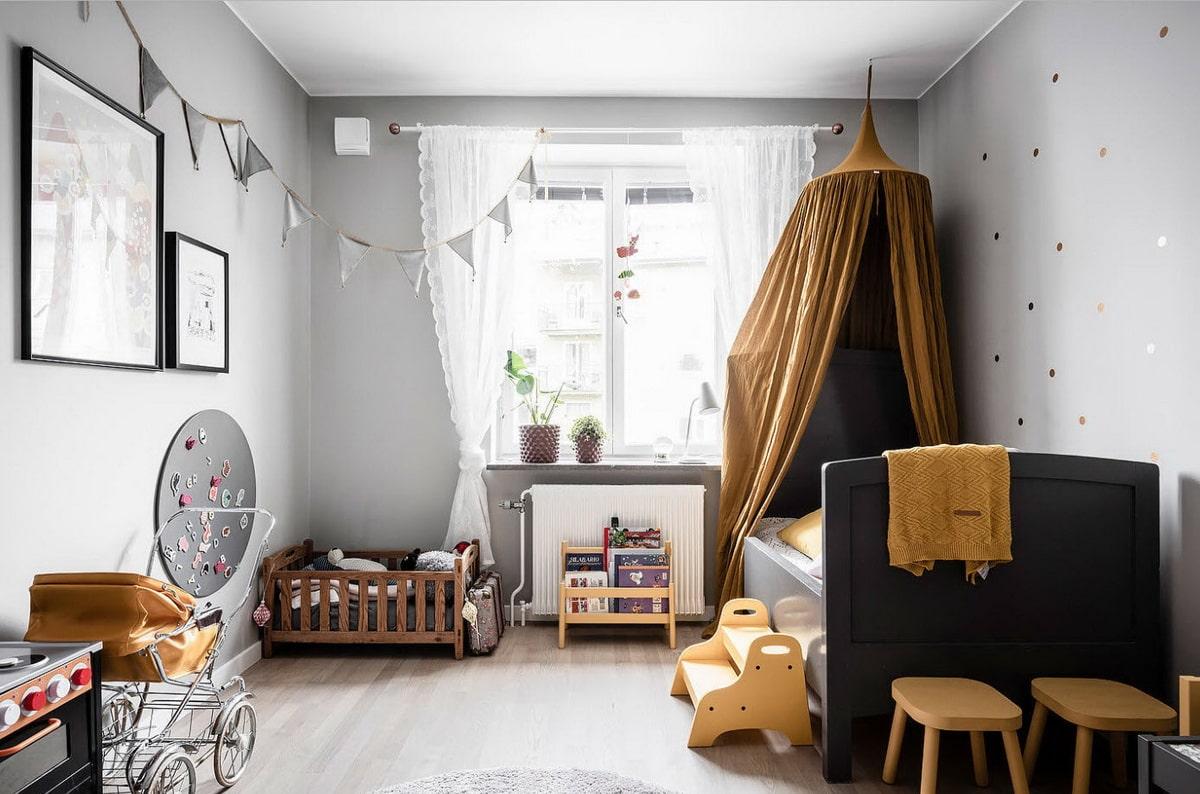 детская комната для двоих детей разного пола