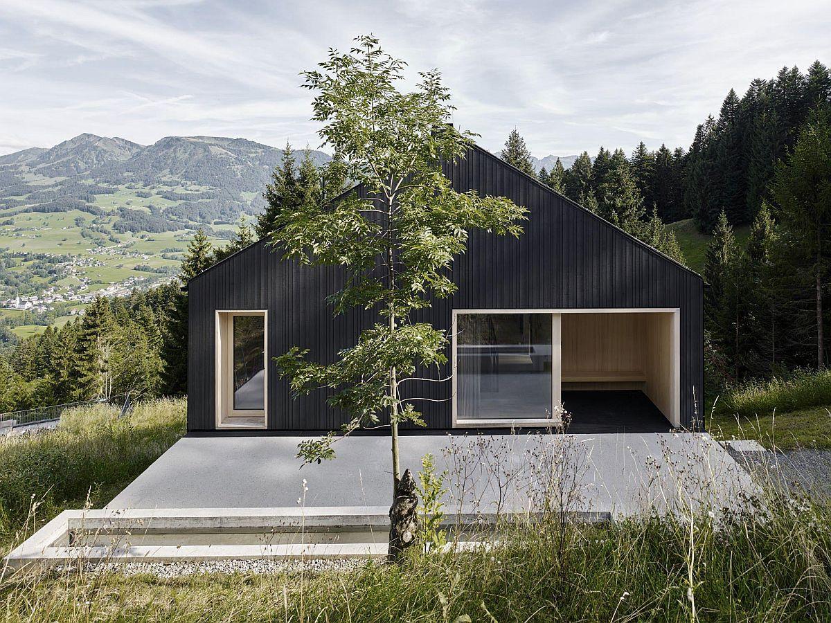 дом в горах дизайн