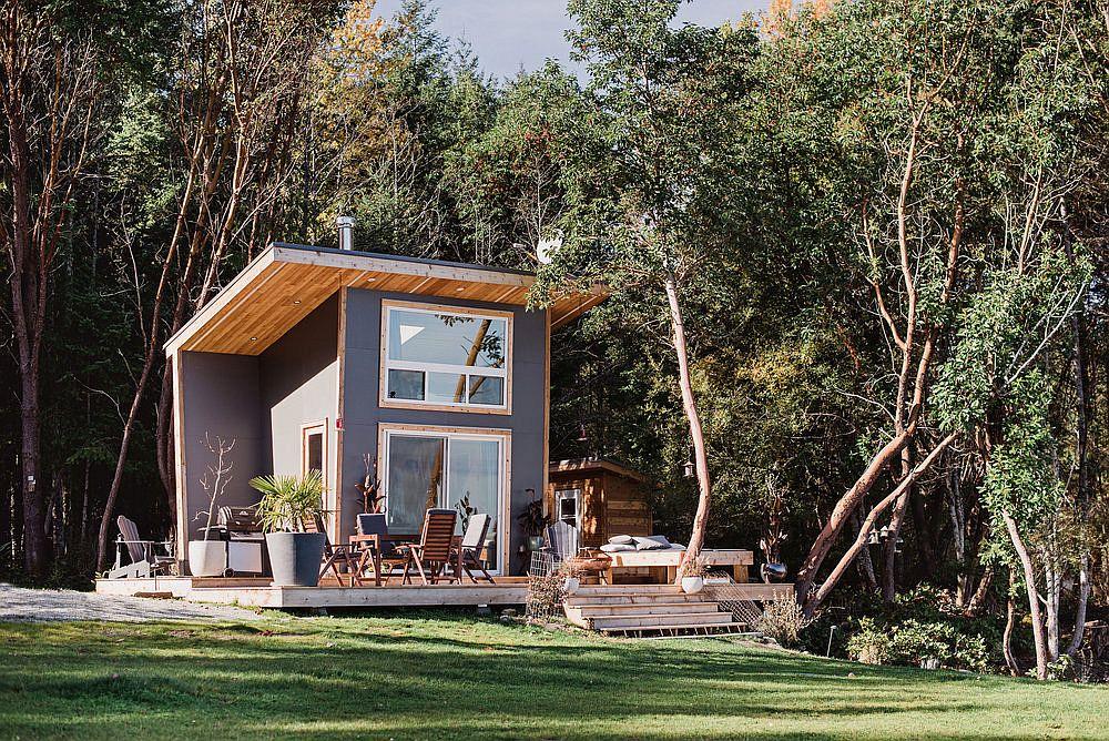 46422 Необычная архитектура: миниатюрный дом в Канаде