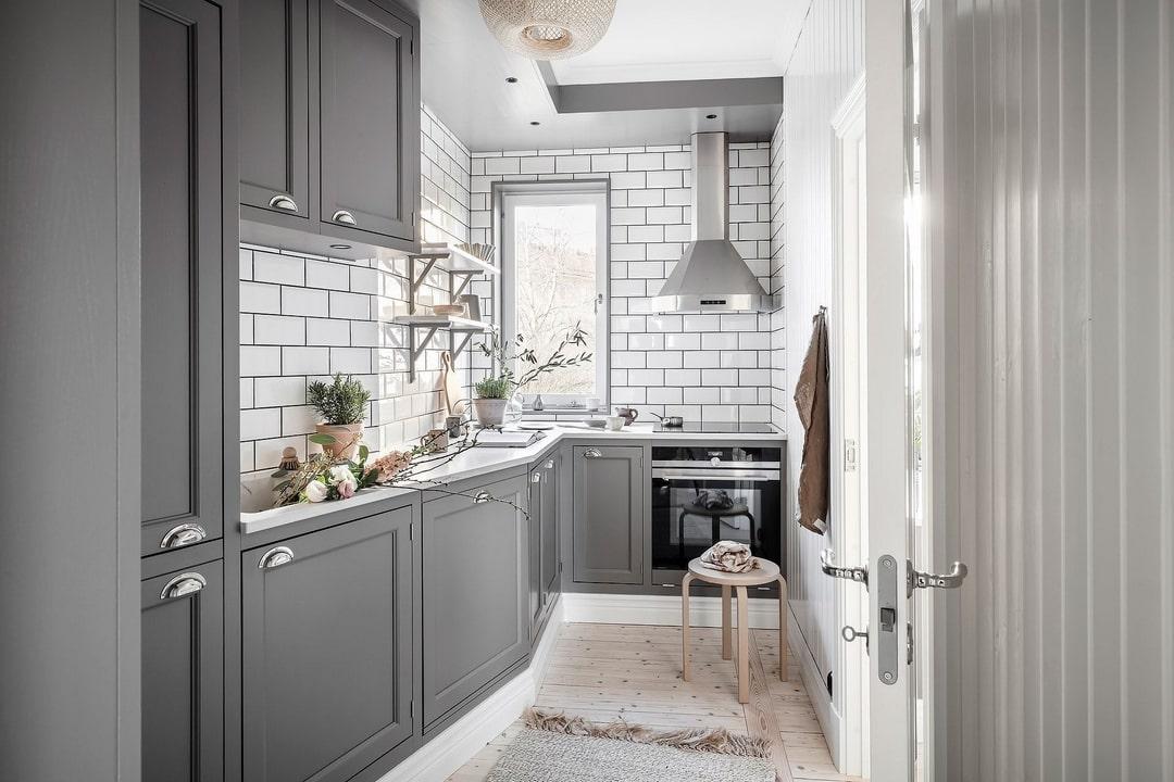 дизайн маленькой кухни 2021