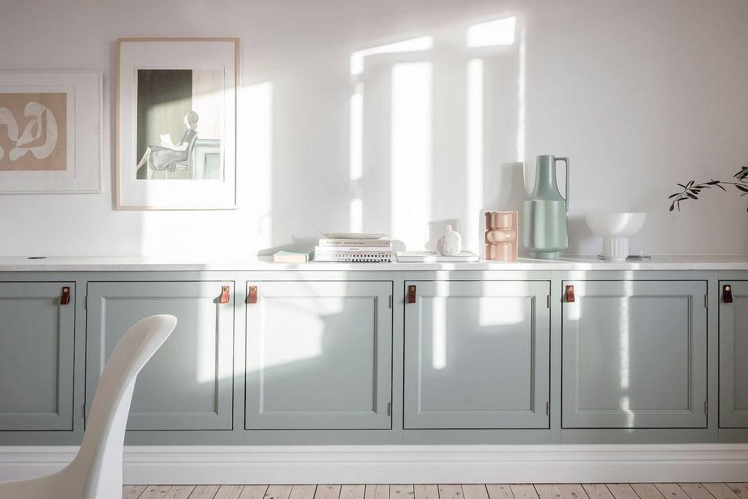 дизайн маленькой квартиры в белом цвете