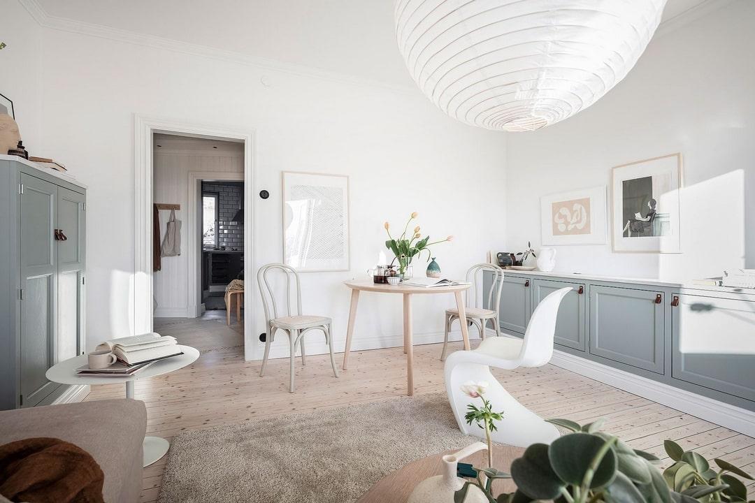 дизайн маленькой двухкомнатной квартиры фото