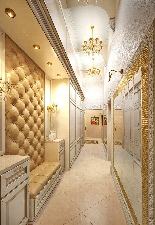 дизайн прихожей для узкого коридора