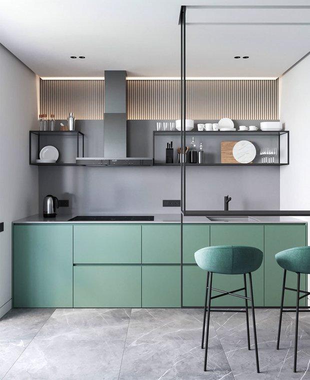 47204 Тренды создания интерьера в малогабаритных кухнях. Интерьер и дизайн кухни