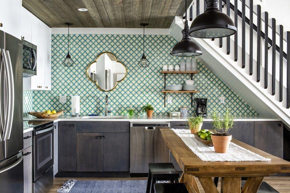 47213 Тренды создания интерьера в малогабаритных кухнях. Интерьер и дизайн кухни